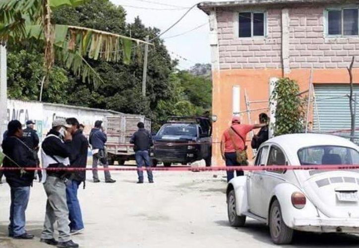 Madrugada asesinaron en emboscada a tres policías en Puebla. (Foto: Debate)