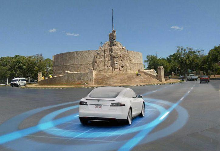 En su gira por Europa, el alcalde de Mérida escuchó a expertos franceses en temas de conectividad y vehículos autónomos. (Foto: Especial)