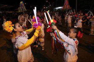 Plaza Carnaval vive una auténtica vaquería