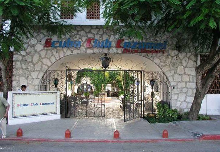 La casa de buceo Scuba Club Cozumel, ubicada en la zona Hotelera Norte funcionaba de forma clandestina. (Foto/Internet)