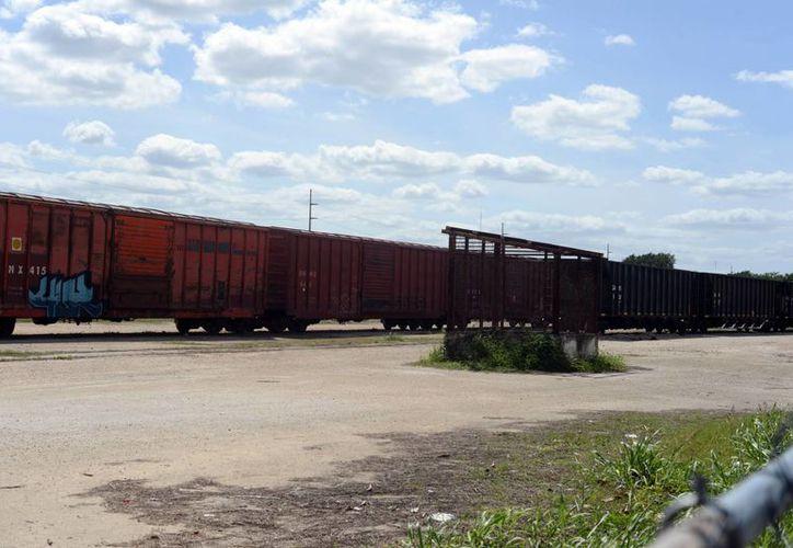 Actualmente el espacio de la exestación de ferrocaril no es aprovechado debido a que es propiedad federal. (Milenio Novedades)