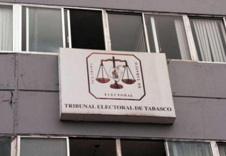 El Tribunal Electoral de Tabasco encontró fundadas las reclamaciones de PRI, Morena, PVEM y PAN y ordenó una elección extraordinaria. Imagen del edificio del Tribunal Electoral de Tabasco. (Milenio Novedades)