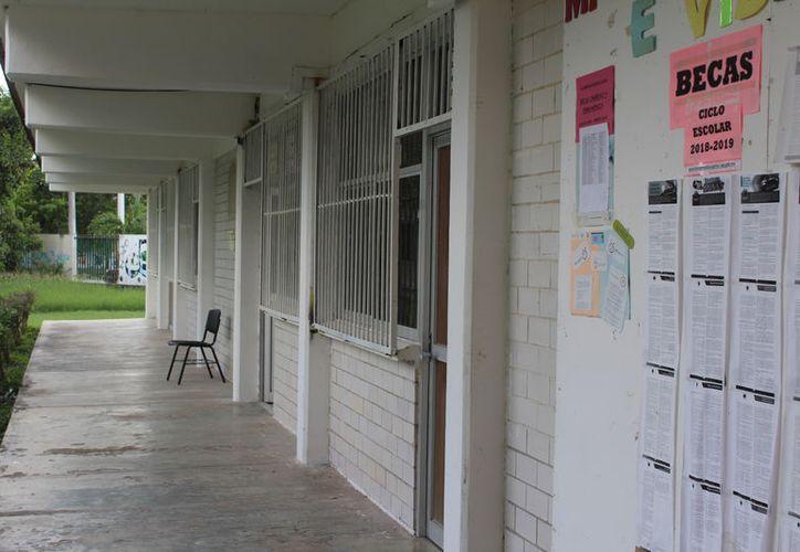 Las clases en el CBTA11 se reanudarán hoy, tras el levantamiento de la protesta de estudiantes. (Daniel Tejada/SPSE)