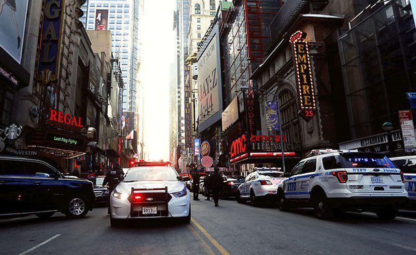 """""""Un tiroteo puede convertirse en cinco si no estamos encima"""" aseguró Terence Monahan, jefe del departamento de Policía de Nueva York. (RT)"""