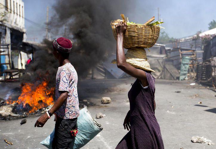 Se registra una devastación y la destrucción de la propiedad privada. (vanguardia.com)
