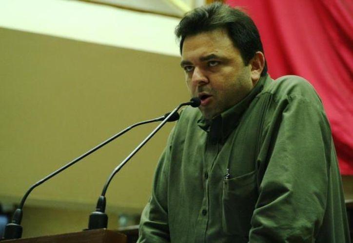 Rodríguez Asaf:  tan solo al programa Xmatkuil-Reyes ya se le reasignaron 2 millones de pesos. (Archivo SIPSE)