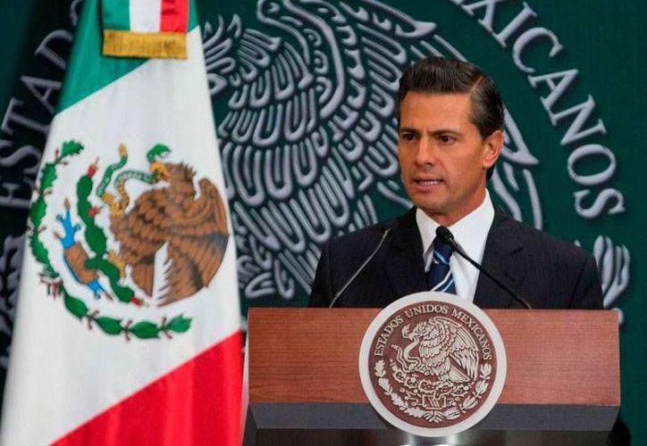El Presidente de México se refirió a la detención del matrimonio Abarca-Pineda, al presentar la iniciativa de Reformas de la Ley de Obras Públicas. (Foto: presidencia.gob.mx)