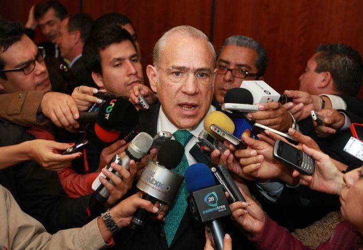 El secretario general de la OCDE, José Ángel Gurría Treviño. (Notimex)