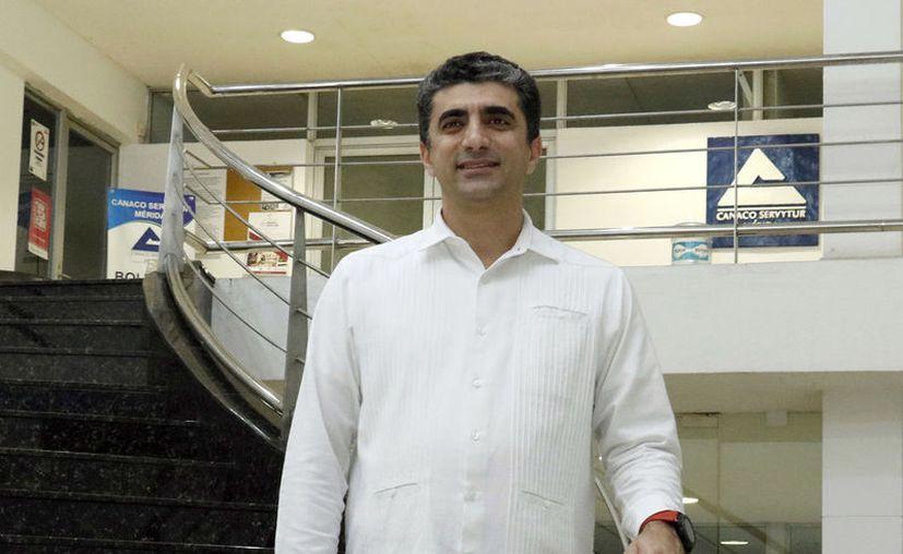 El empresario Michel Salum Francis tomará hoy de nuevo las riendas en Yucatán del Consejo Coordinador Empresarial. (Novedades Yucatán)