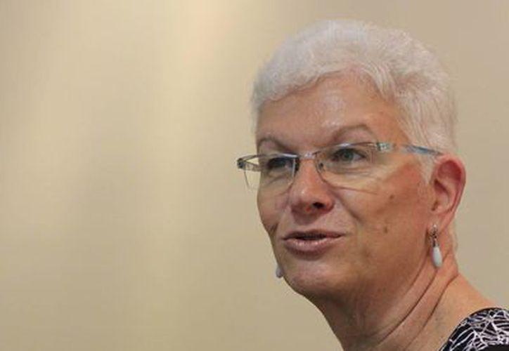 Rodica Radian, embajadora de Israel en México. (Sergio Orozco/SIPSE)