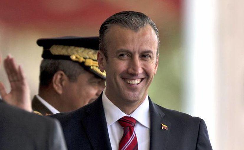 El gobierno de Venezuela no ha hecho comentarios sobre la sanción de EU al vicepresidente Tareck El Aissami. (AP/Fernando Llano)