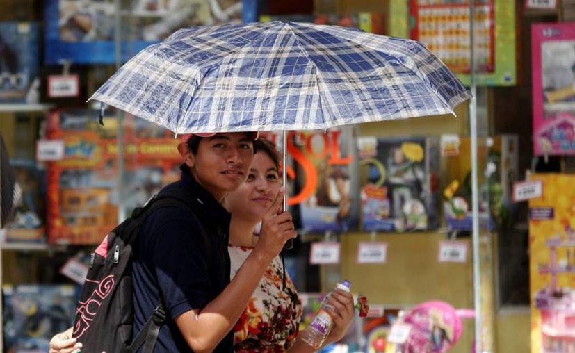 El fuerte calor se mantendrá durante estos días en el Estado. (Christian Ayala/SIPSE)