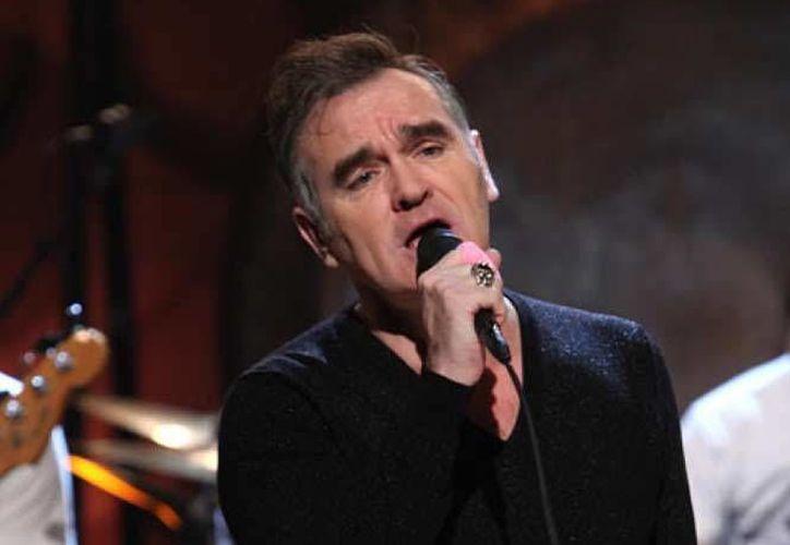 A inicios del 2017, el británico Morrissey había anunciado concierto en Guadalajara, como parte de la primera edición del Festival Roxy.(Archivo/AP)