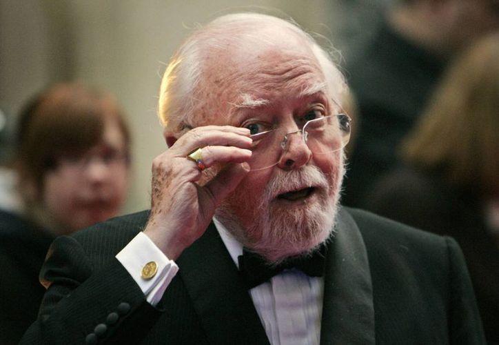 Lord Attenborough residía desde 2013 en un hogar para mayores y se movía en silla de ruedas desde que sufriera una apoplejía hace cinco años. (AP)