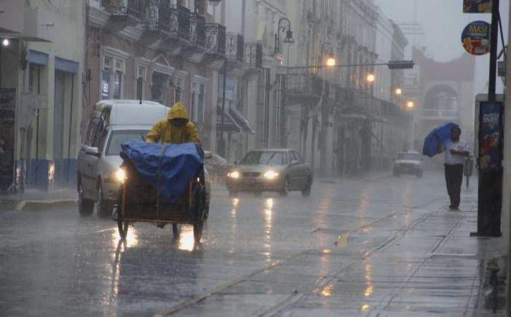 La Conagua pronostica lluvias para este sábado por la tarde en Yucatán. (SIPSE)