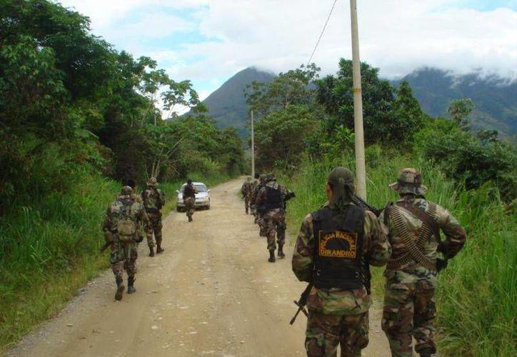 Durante la ejecución de esta operación se logró incautar armamento y municiones que estaban en poder del detenido. (diariocorreo.pe )
