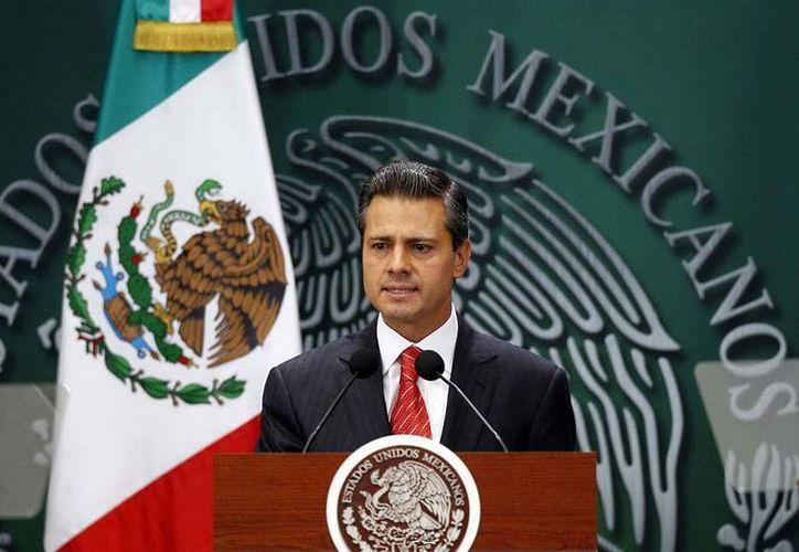 Según los médicos, el presidente, Enrique Peña Nieto, saldrá del hospital en 2 días. (Archivo/NTX)