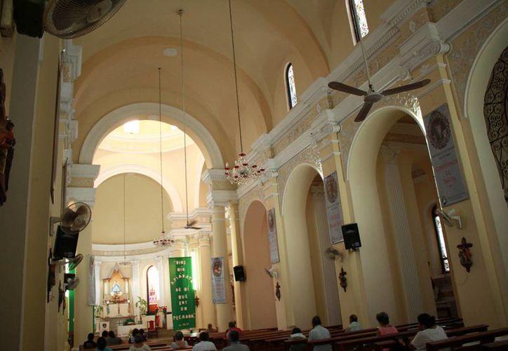 La iglesia de San Sebastián tuvo categoría de parroquia en 1889. (Jorge Acosta/Milenio Novedades)
