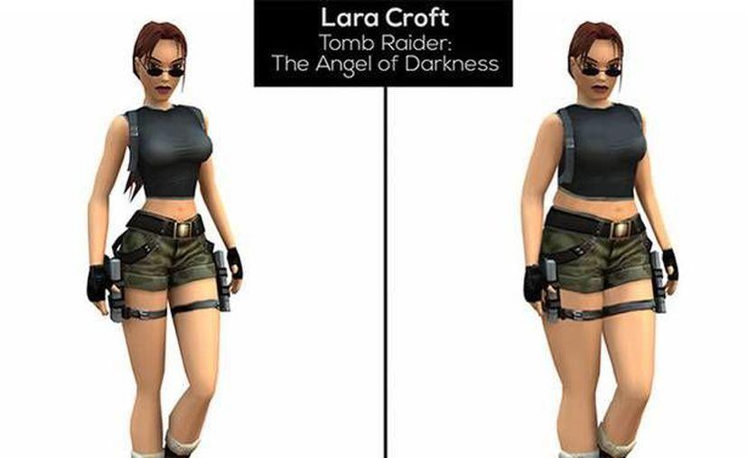 Imagen de cómo Lara Croft de Tomb Rider luciría en la vida real. (RT)