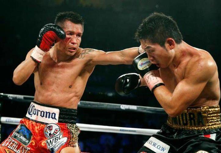 El boxeador mexicano cumplió su propósito del año, tras haber conseguido el campeonato mundial superpluma. Actualmente 'El Bandido' forma parte de los siete mexicanos campeones del mundo. (Facebook: Boxeo sin fronteras)