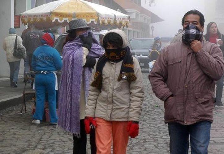 En varias partes de Durango esperan máximas de apenas 15 grados centígrados. (Notimex)