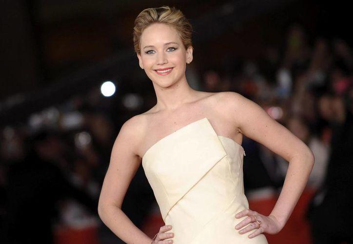 Jennifer Lawrence, de 23 años, es la actriz más joven de la historia en haber conseguido tres nominaciones a los Oscar. (EFE/Archivo)