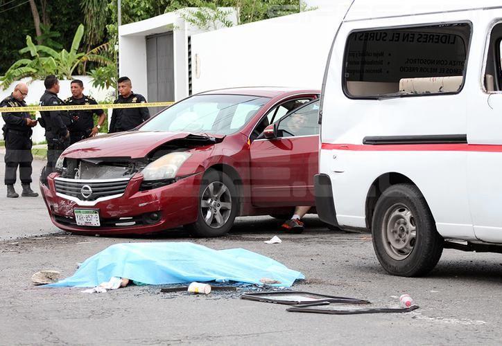 El joven causante del accidente ya está libre a pesar de ser imputado por el delito de homicidio culposo. (SIPSE)