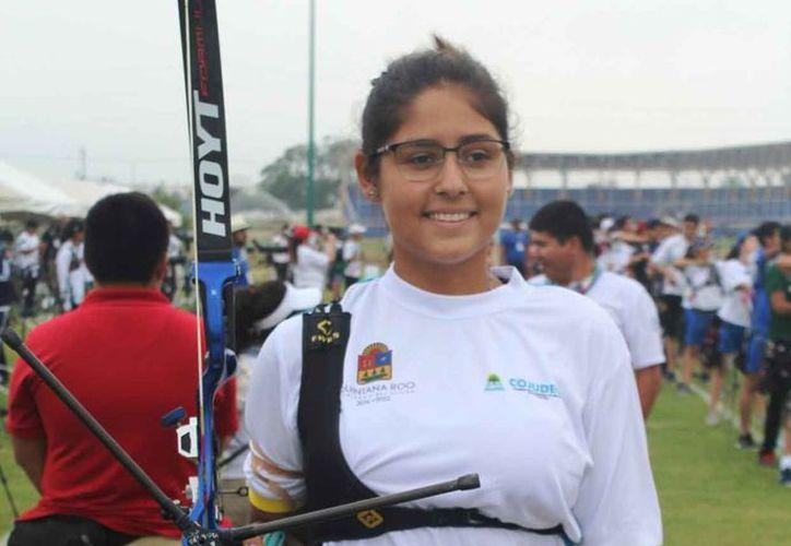 Ana Laura Vázquez dijo que está lista y decidida a luchar por los objetivos. (Raúl Caballero/SIPSE)