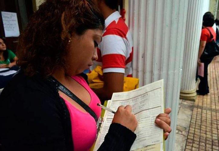 Según cifras de la OCDE, la tasa de desempleo abierto fue de 4.9 por ciento, mayor que la de los varones, que fue de 4.6 por ciento. (SIPSE.com)
