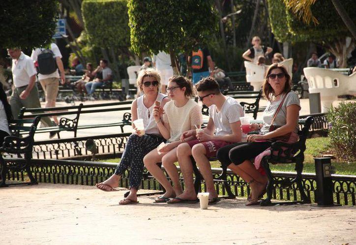 La Conagua pronostica para este viernes en Yucatán temperaturas máximas de 29 a 33 grados y mínimas de entre 14 y 18 grados. (SIPSE)