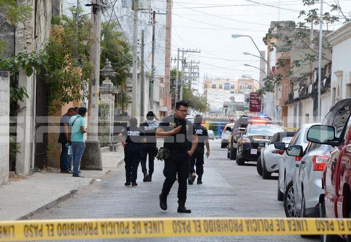 El intento de robo se dio en una vivienda ubicada a las espaldas de Paseo de Montejo, en abril pasado. (SIPSE)