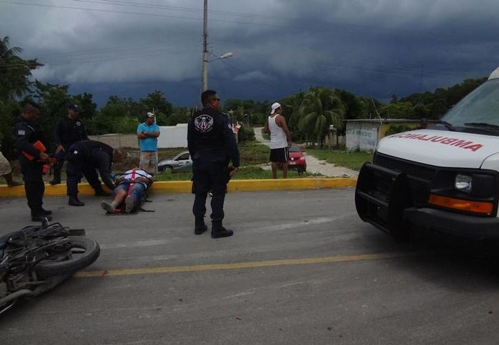 Al lugar arribaron paramédicos y elementos de la policía municipal. (Archivo/SIPSE)
