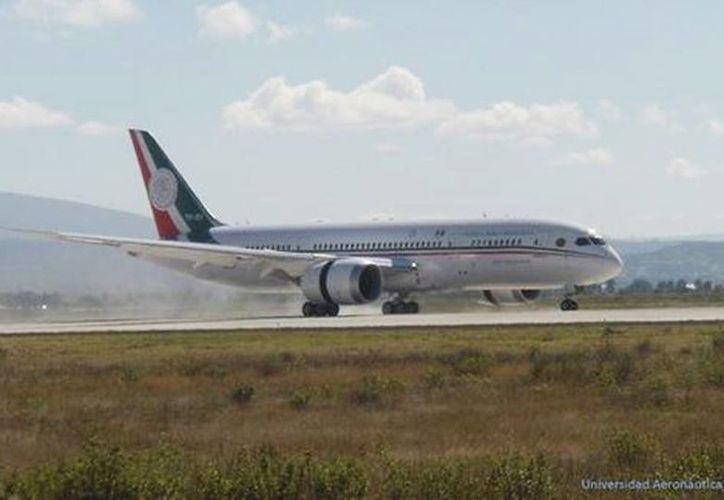 El nuevo avión presidencial aterrizará el 18 de diciembre