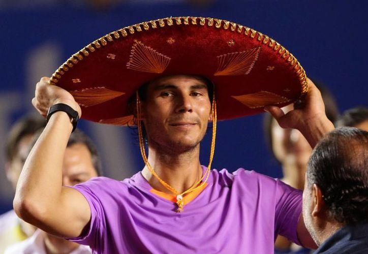 El español Rafael Nadal demostró porque es uno de los tenistas  mejores del mundo. (EFE)
