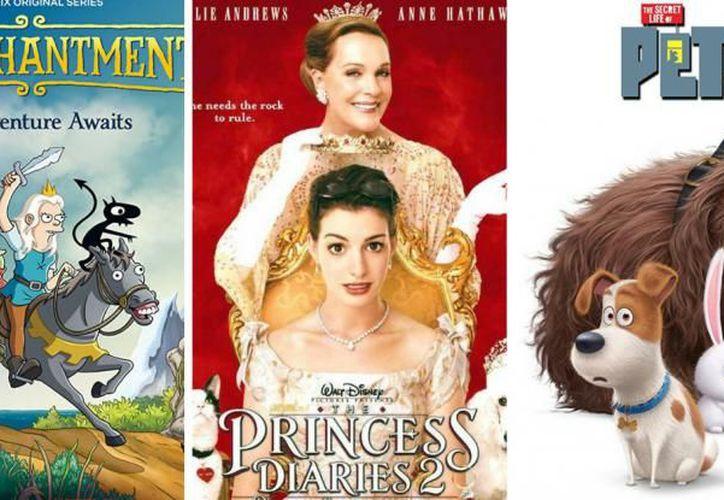 Este agosto Netflix estrenará serie animada y varias películas. (Vix/Internet)