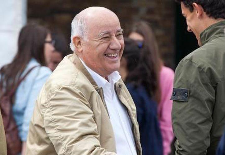 Amancio Ortega, cofundador del gigante español Inditex, es ahora la persona más rica del planeta. (Getty Images).