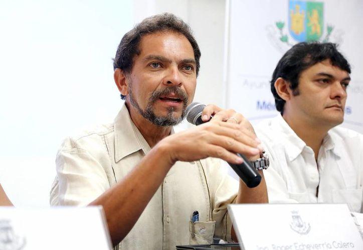 Echeverría Calero reconoció que recientemente algunas zonas de la ciudad estaban a oscuras debido a fallas imputables a la Comisión Federal de Electricidad. (Milenio Novedades)