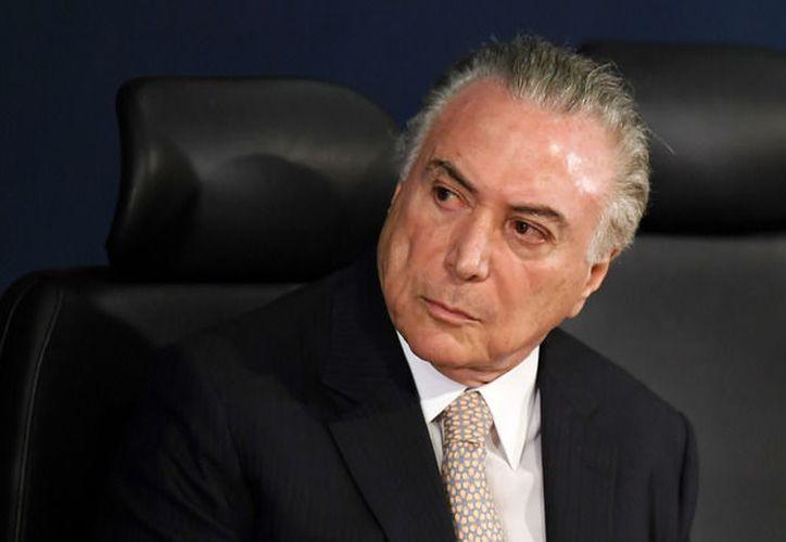 El presidente de Brasil, Michel Temer, fue dado de alta del hospital en la ciudad de Sao Paulo donde se sometió a una cirugía de próstata. (Contexto/Internet).