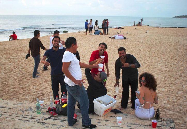 Durante el mes de diciembre se registra el aumento de consumo excesivo de alcohol. (Daniel Pacheco