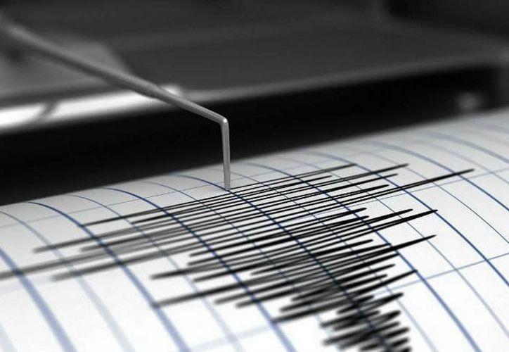 El sismo, registrado a las 18.52 hora local (21.52 GMT). (Internet)