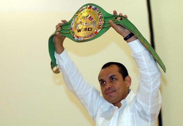 Ricardo 'Finito' López ingresará al Salón de la Fama de Nevada en una ceremonia a realizarse el próximo 30 de julio en Las Vegas. (Imagen tomada de  elsiglodetorreon.com)