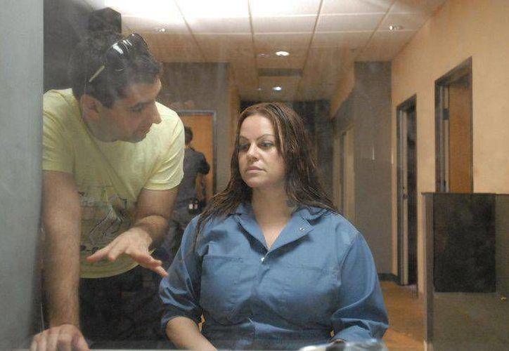 """En """"Filly Brown"""" Jenni Rivera hizo el papel de una drogadicta presa. (www.hitsmx.com/Archivo)"""