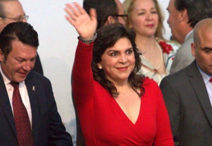 Fue en enero pasado cuando Ivonne Ortega habló abiertamente de sus aspiraciones de ser la presidenta de México. (Archivo/Notimex)