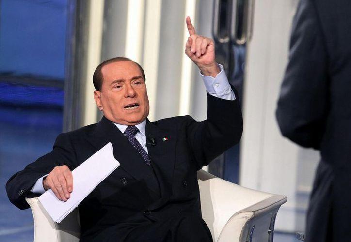 El ex premier italiano había mantenido silencio por algunos meses. (EFE)