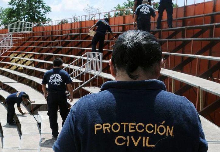 El próximo 19 de septiembre se realizará la ceremonia del Día Nacional de Protección Civil. (Redacción/SIPSE)