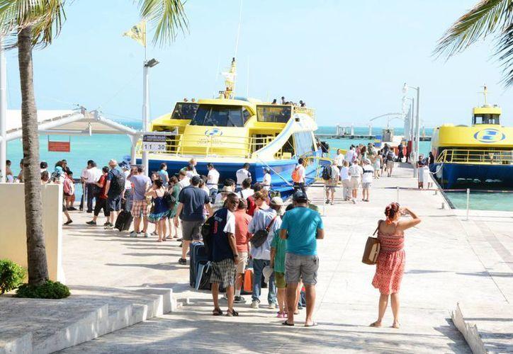 Personal de la terminal de Punta Sam reconoció que el año pasado tuvieron buena afluencia. (Victoria  González/SIPSE)