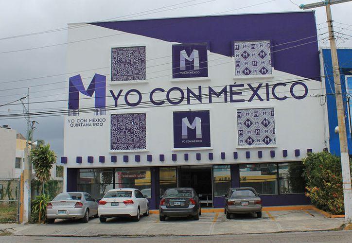 """Iniciará operaciones la oficina de enlace de la Asociación Civil """"Yo con México"""". (Jesús Tijerina/SIPSE)"""