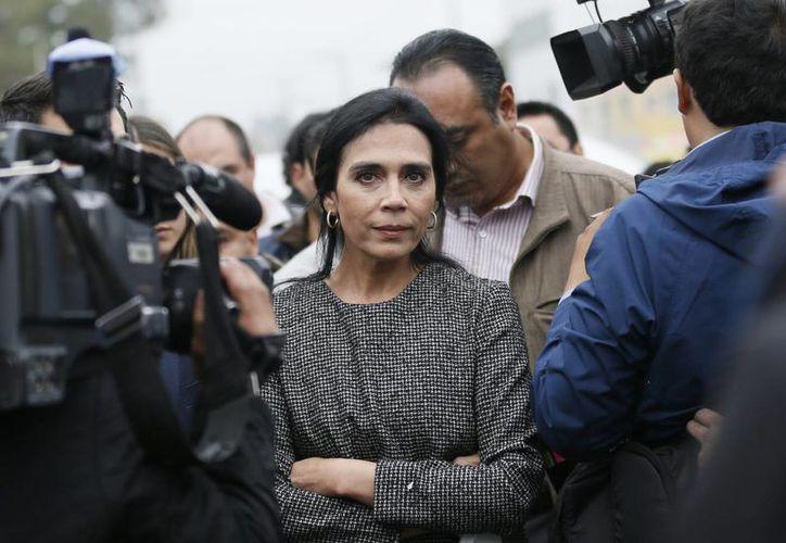Iveth Dagnino dijo que el ex gobernador de Sonora, Guillermo Padrés Elías, es un hombre de bien. (AP/Marco Ugarte)