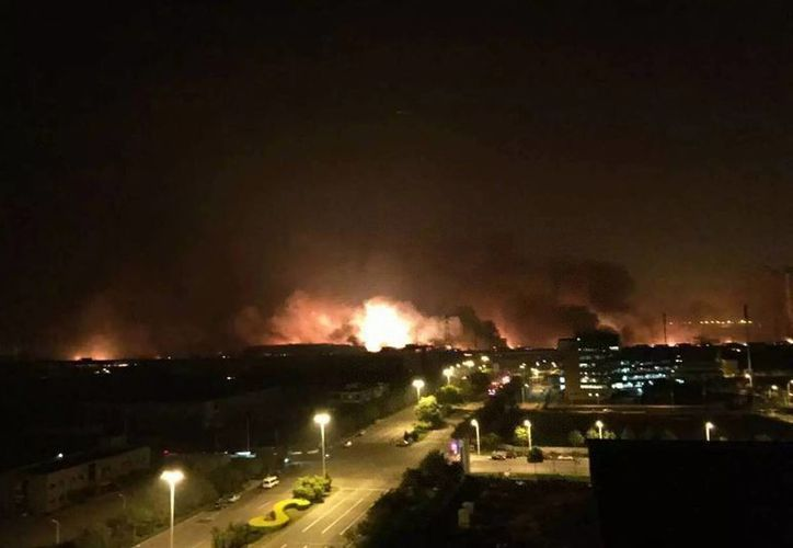 En las últimas horas se reportaron ocho explosiones en la ciudad de Tianjin. Hay 104 muertos hasta el momento. (Archivo/Notimex)