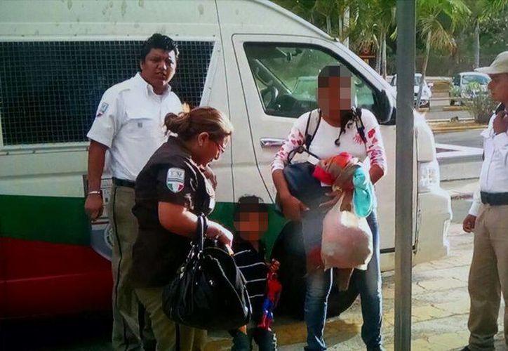 El INM trasladará a las dos personas de origen panameño, que pretendían llegar a Estados Unidos. (Redacción/SIPSE)
